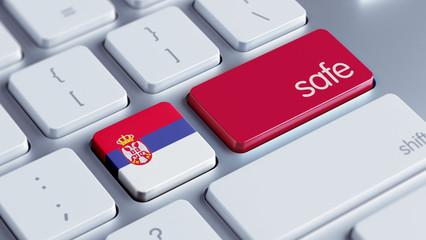 Serbia Safe Concept