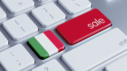 Italy Sale Concept