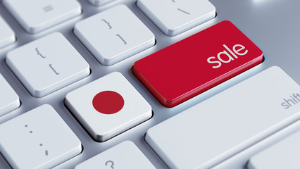 Japan Sale Concept