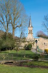 Chevreuse-église et parc
