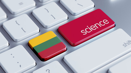Lithuania Science Concept