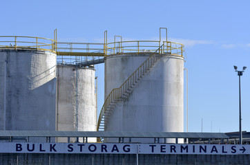 Bulk Storage Terminals - Auckland New Zealand
