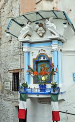 Le strade di Ercolano - Napoli - la Madonna dell'Arco