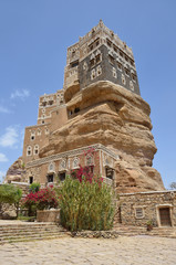 Йемен, дворец имама в Вади-Дхар в Сане