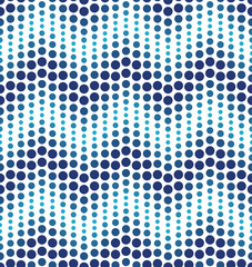 Blue geometrical circle pattern