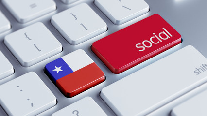 Chile Social Concept