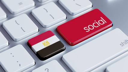 Egypt Social Concept