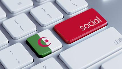 Algeria Social Concept