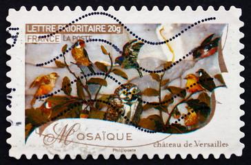 Postage stamp France 2009 Mosaic, Works of Fine Art