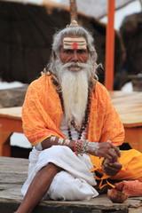 Heilgier Sadhu in Indien