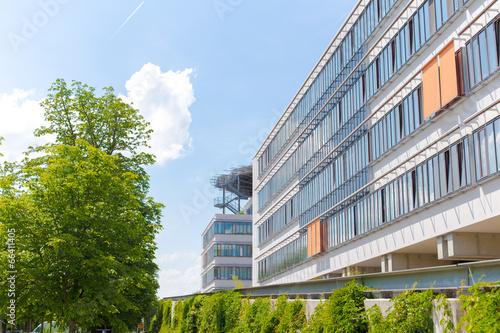 Leinwanddruck Bild Halle Saale - Uniklinikum Kröllwitz