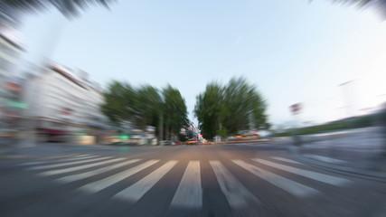Driving Time Lapse Lyon