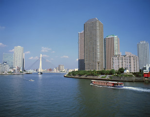 Sumida River and Chuo District