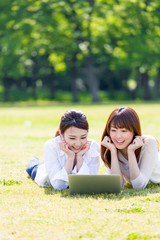 young asian women lifestyle image