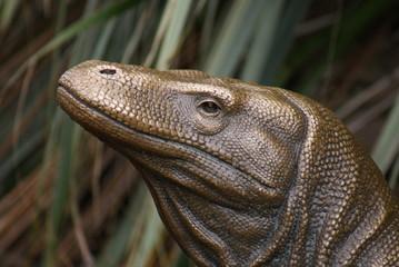 Statue of a Komodo Dragon - Varanus komodoensis