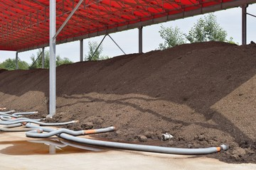 Industrial compost