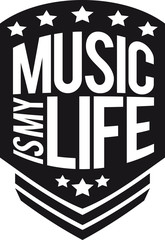 Music is my Life Design
