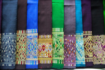colourful sarong