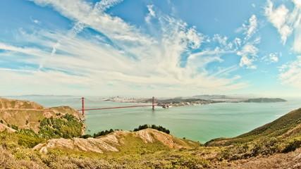 Golden Gate Bridge Time Lapse HDR