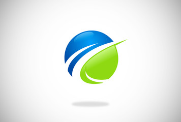globe finance success vector