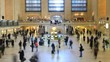 Grand Central Station Time Lapse Tilt Shift
