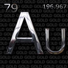 Gold element concept