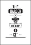 Projektowanie plakatów typograficznych - Im twardsze, tym bardziej pracuję