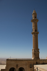 mosque and minaret in Mardin