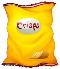 A pack of crisps