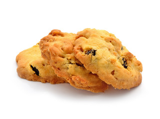 Raisin cookies of sweet, delicious.