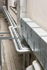Metal ventilation pipes