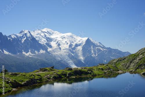 Aluminium Alpen Mont Blanc