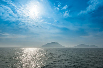 Island in the tongyeaong bay