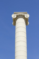 Classical column and capital