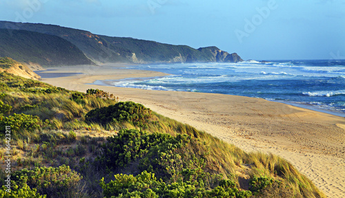canvas print picture einsamer Strand in Australien