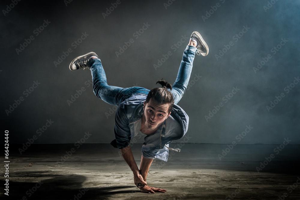 równowagi break dance hip-hop - powiększenie