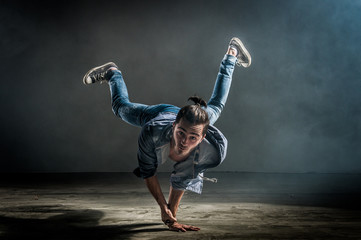 Danseur breakdance
