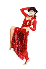 Oriental Tango dancer