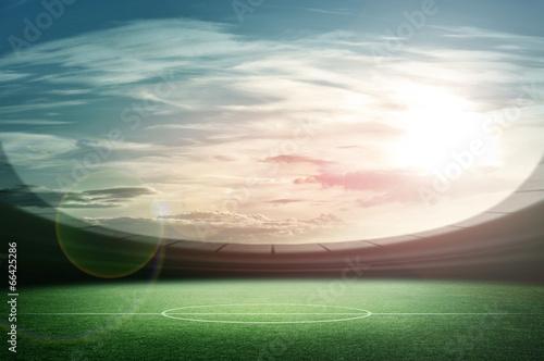 Foto op Canvas Stadion Stadium