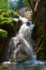 Forest waterfall Eravan, Thailand