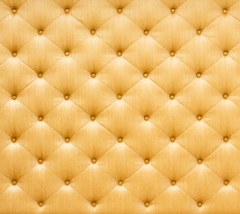 Golden color sofa cloth texture