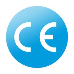 Etiqueta redonda CE