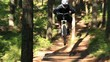 Постер, плакат: Mountain Biking Jumps Sequence