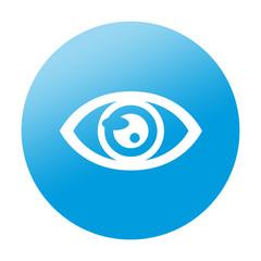 Etiqueta redonda ojo