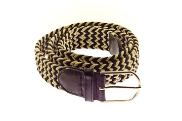 trouser belt, male, braided, stretch