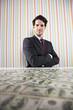 Wealth businessman
