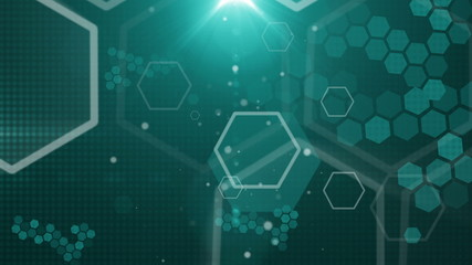 abstract background honeycomb