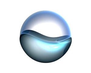 Flüssiger Button