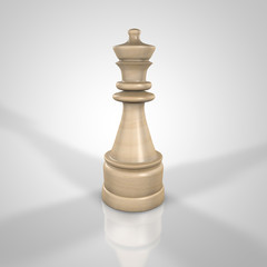 Wooden Queen Chess