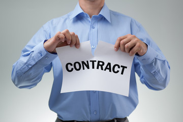 Tearing up the contract